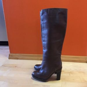 Marni tall leather boots made in Italy